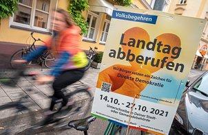 Volksbegehren zur Landtags-Auflösung klar gescheitert